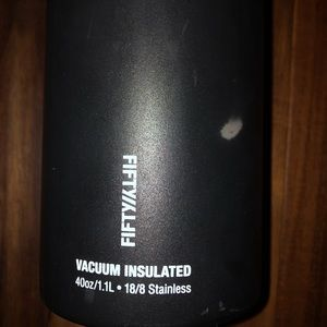 Fiftyfifty insulated water bottle